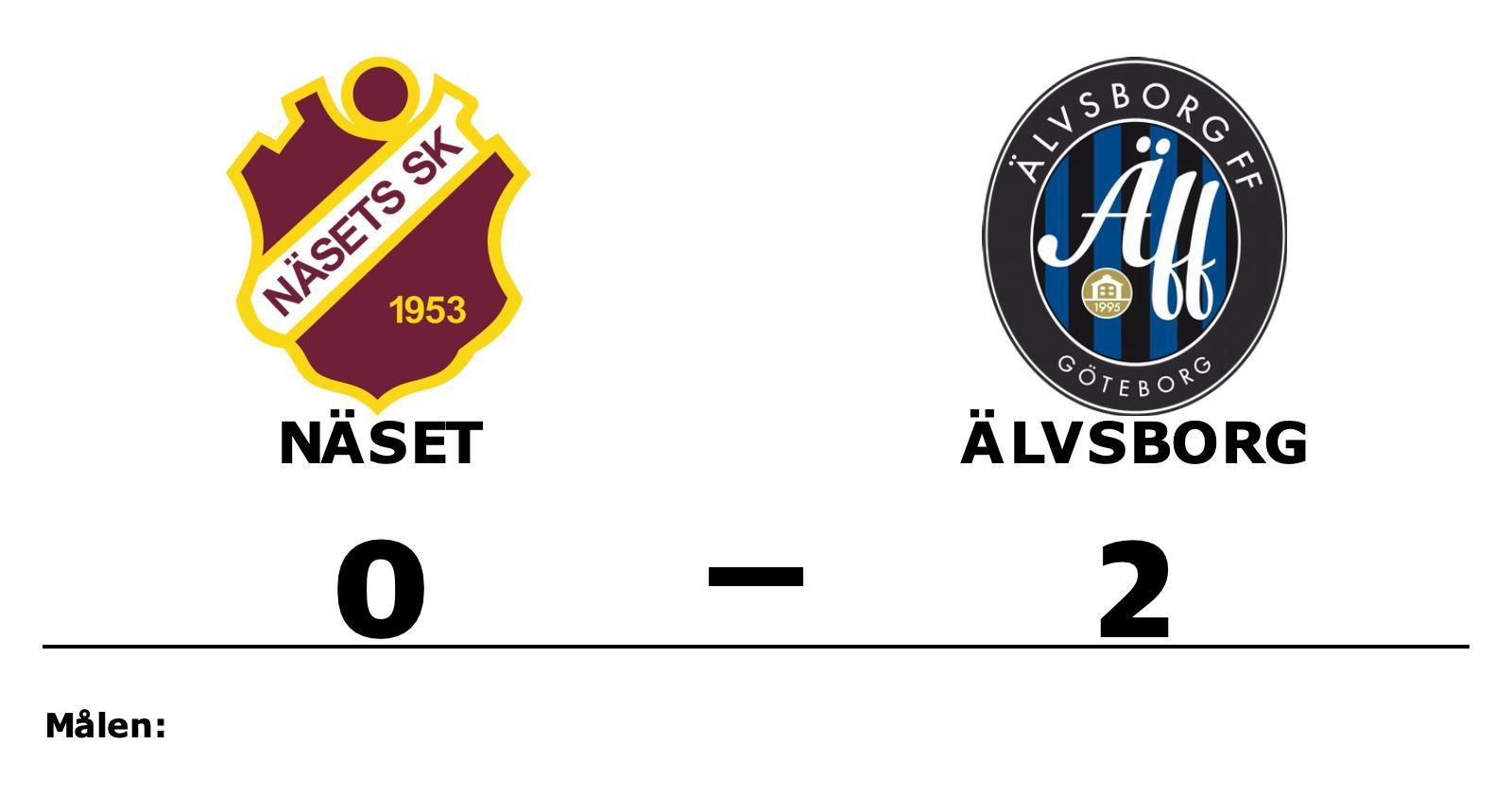 Hugo Börjesson och Adam Lisnell matchvinnare när Älvsborg vann mot Näset