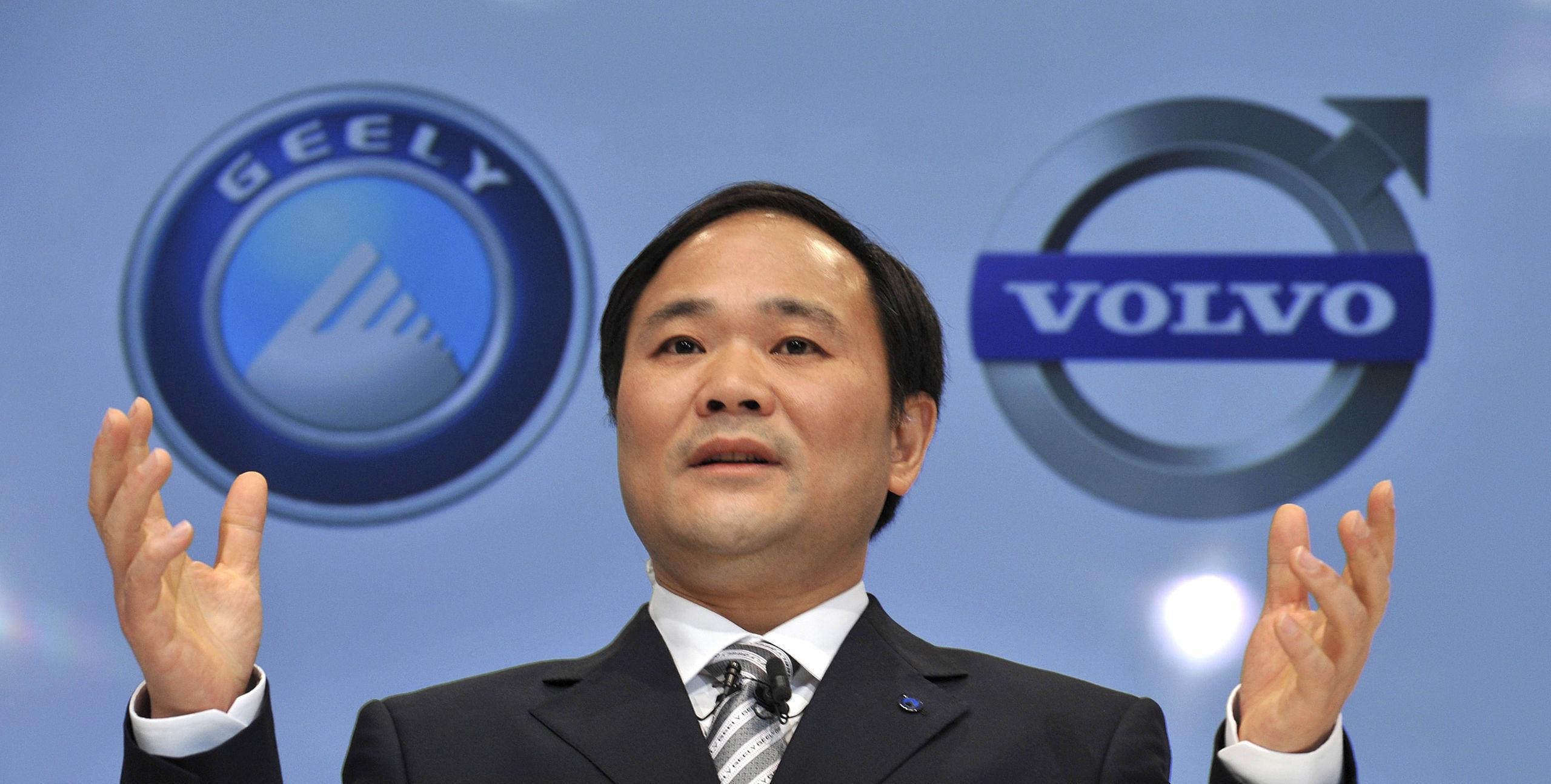 Volvo: Geely och Fredrik Lundberg oense om utdelning - DI