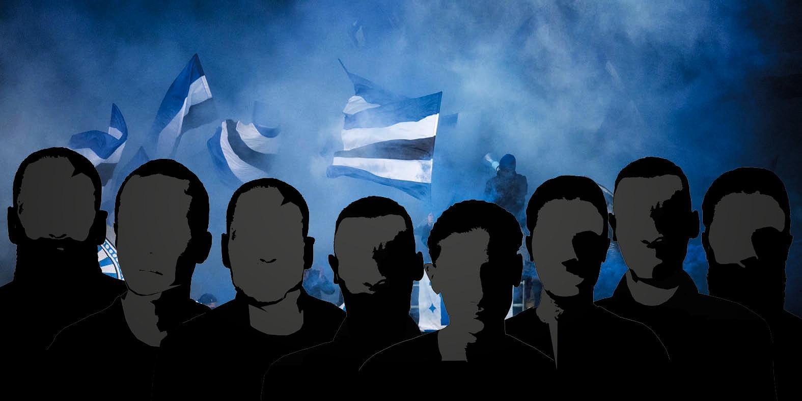 Tillträdesförbud för åtta IFK-anhängare