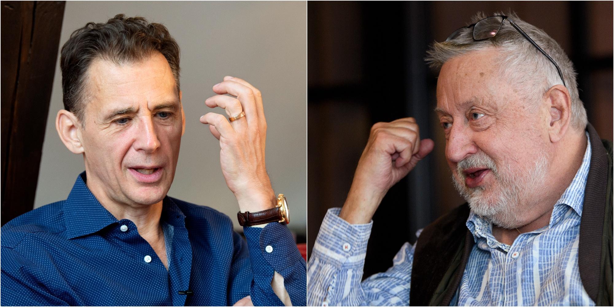 Leif GW Persson och David Lagercrantz i bråk
