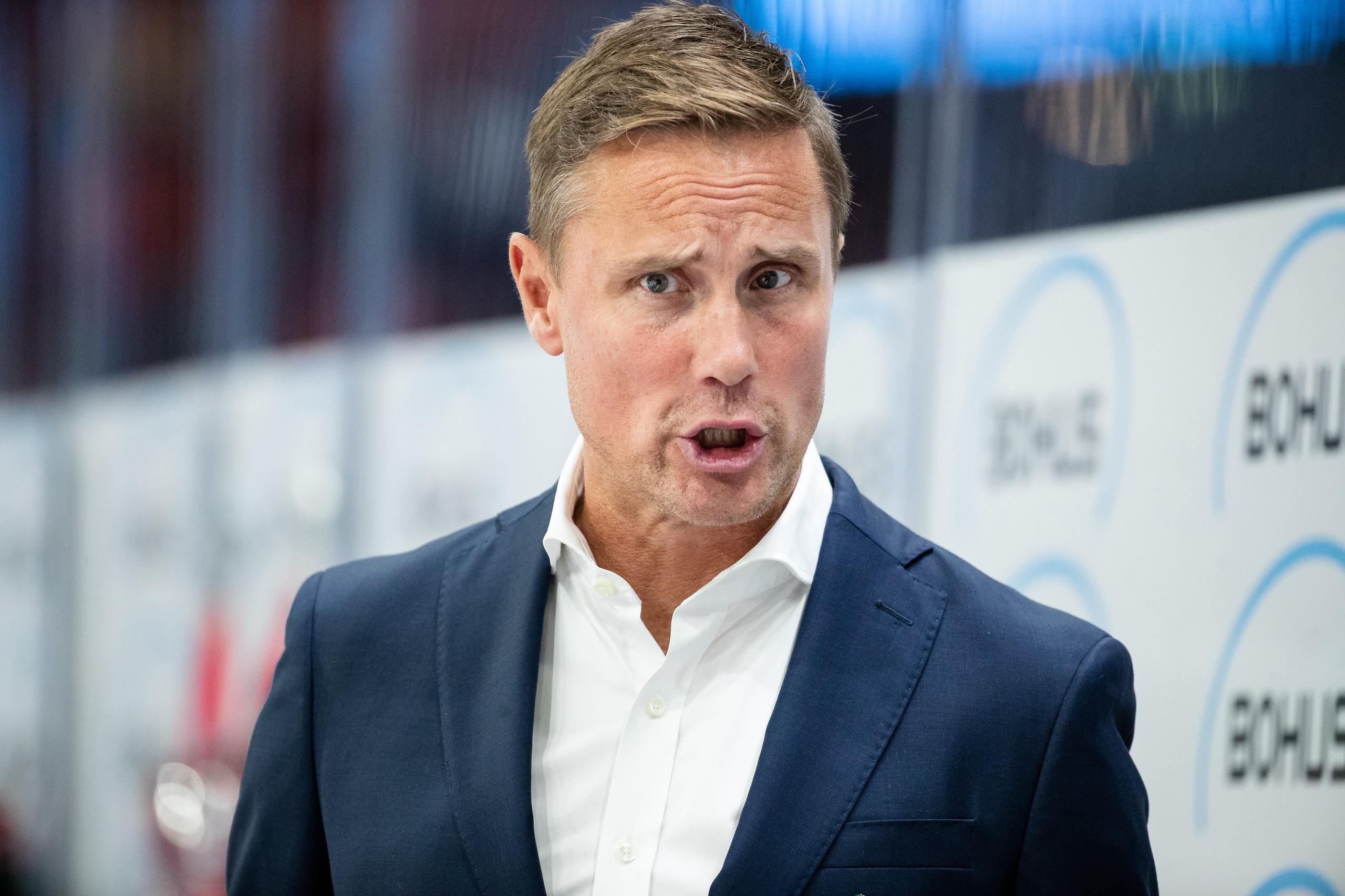 Roger Rönnbergs ilska efter förlusten mot Leksand