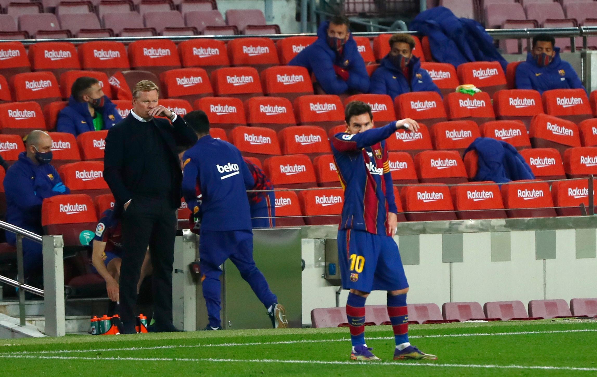 """Tränaren om Messi: """"Som en tyrann"""""""