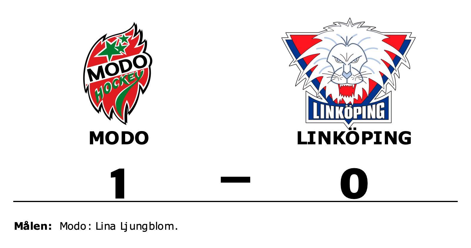 Modo vann mot svårslaget Linköping på hemmaplan
