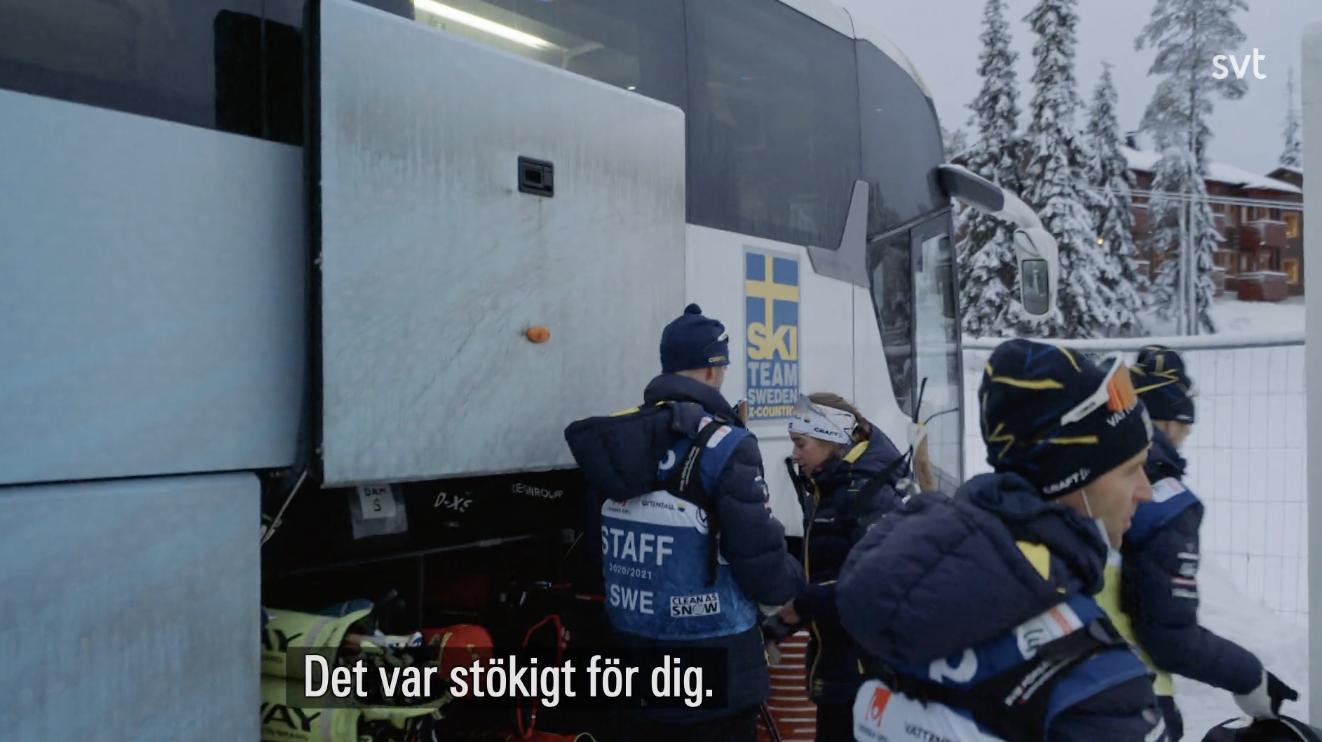 Landslagsstjärnornas bråk – nya SVT-bilderna avslöjar
