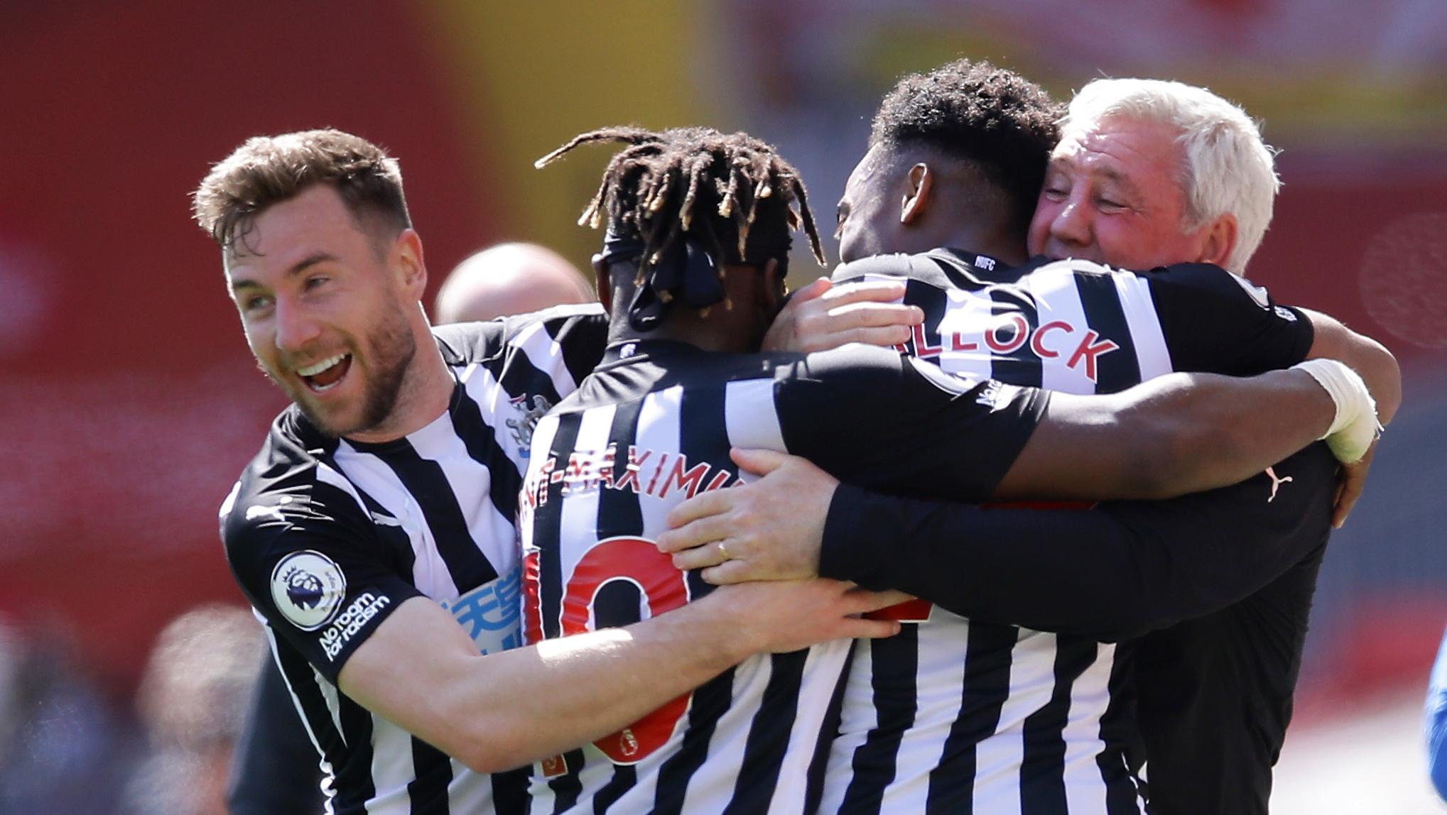 Newcastles tränare kvar – åtminstone en match till