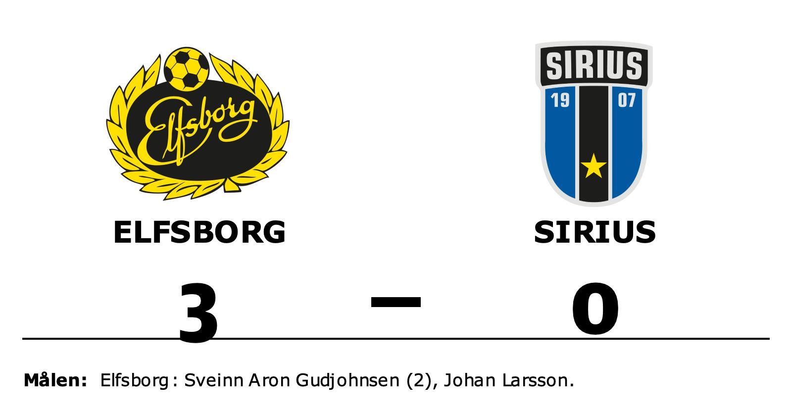 Formstarka Elfsborg tog ännu en seger