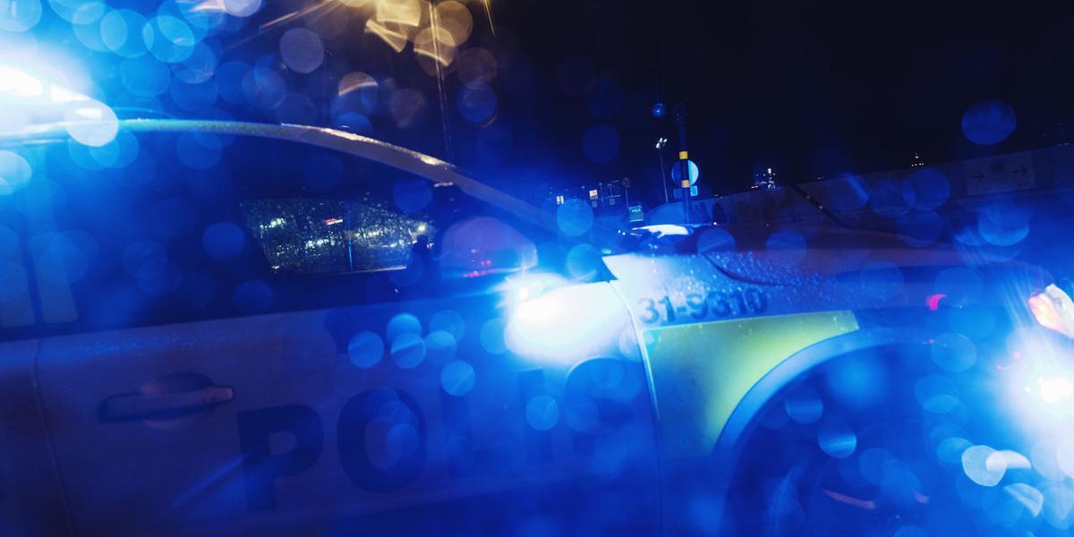 Stor polisinsats efter bilbränder i Göteborg