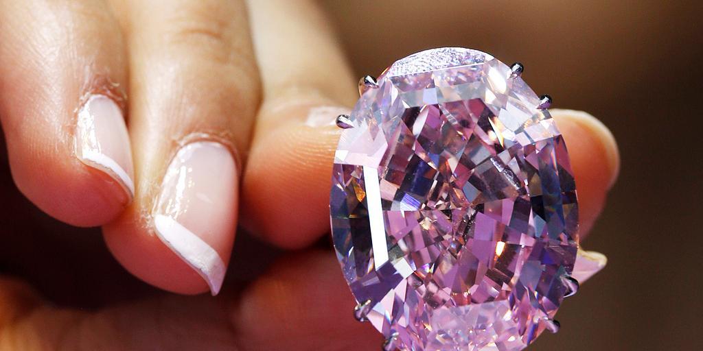 världens dyraste diamant