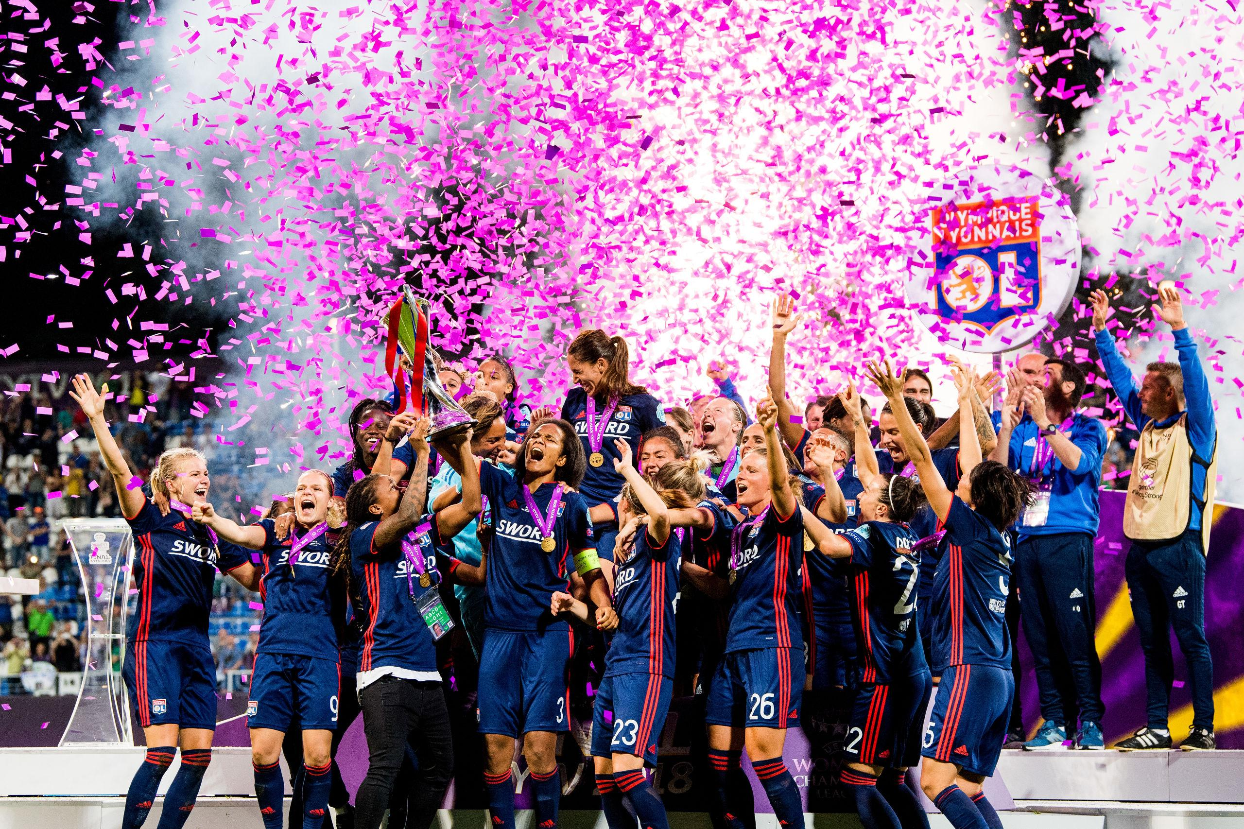 Lyon försvarar Champions League-titeln  da2f3d745302a