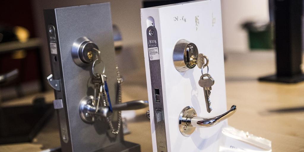 Splitter nya Så säkert är låset till din ytterdörr | Göteborgs-Posten JP-61