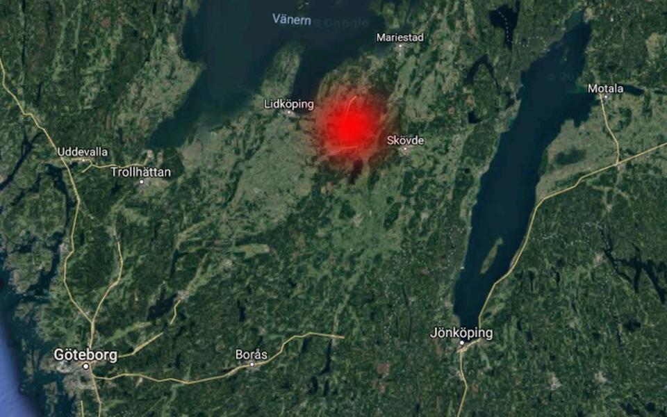Jordbävning Göteborg