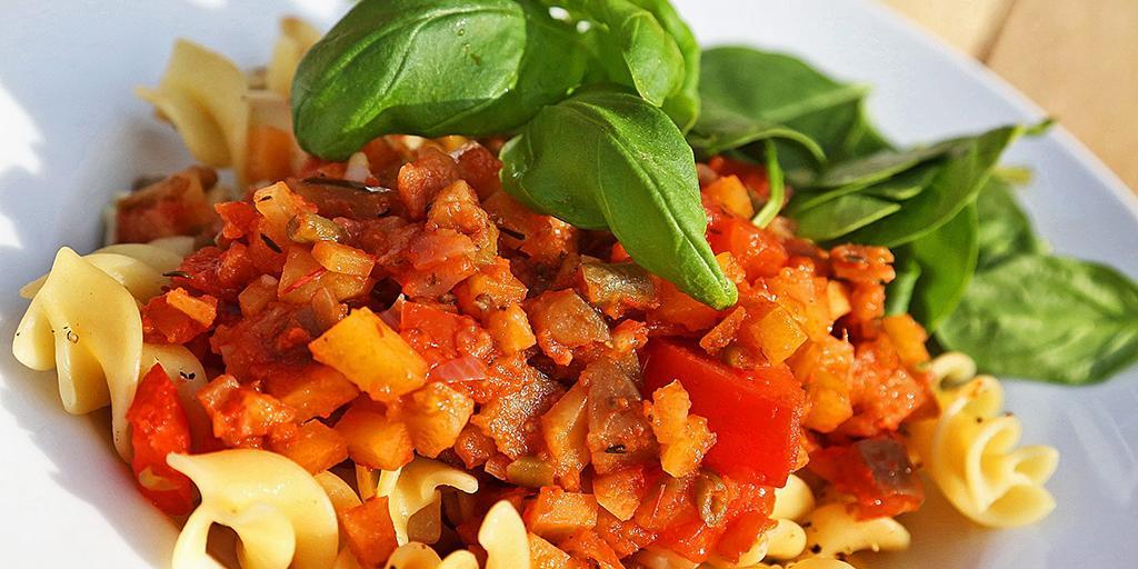 Pasta med blandade grönsaker  1dd8d15546799