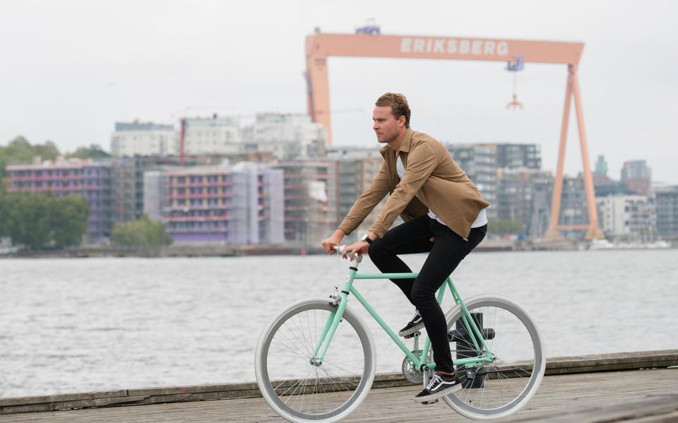 Fantastisk Sadlade om till cyklar med Göteborgsprofil | Göteborgs-Posten YO-21