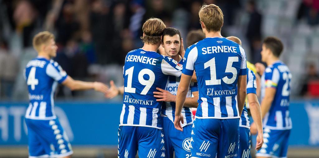 IFK Göteborg samlar sig efter 2–2-krysset mot Trelleborg. Bild  DANIEL  STILLER 34a644f6c0aae